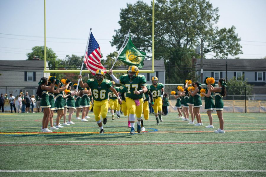 Lynbrook Owls take the field