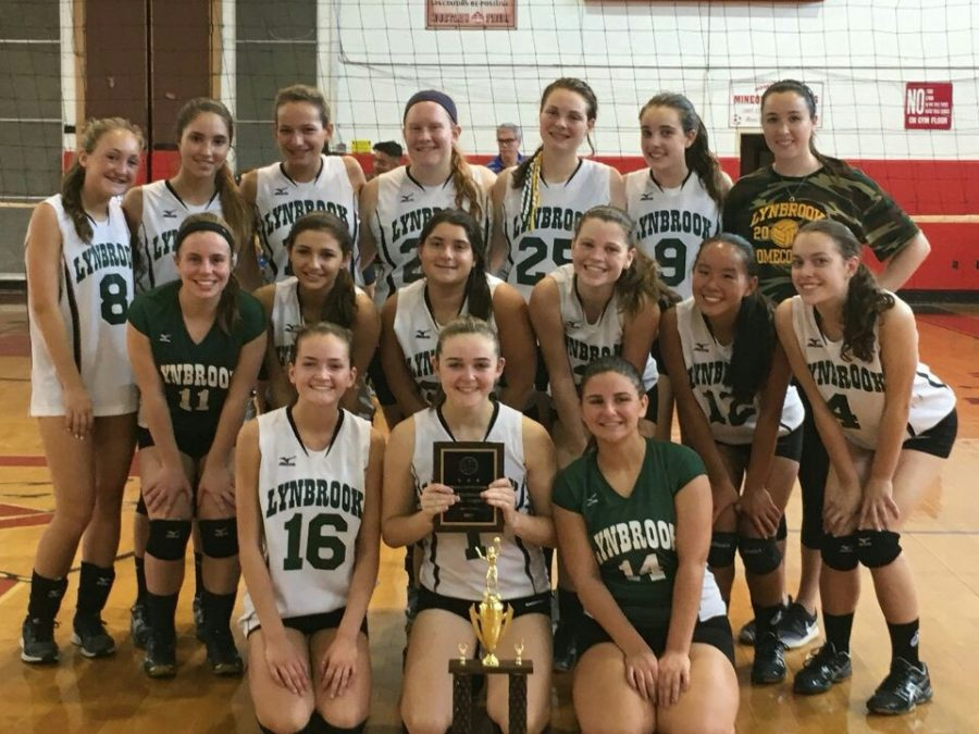 Victory for Varsity Volleyball