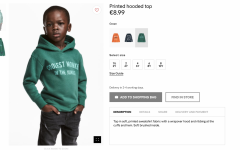 H&M Under Fire for Hoodie