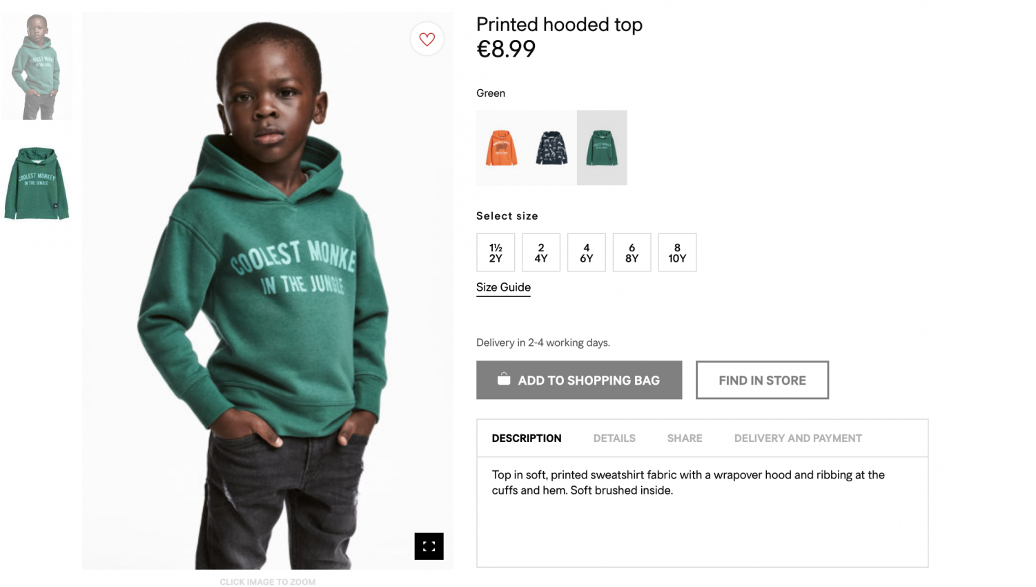 H&M's controversial advertisement