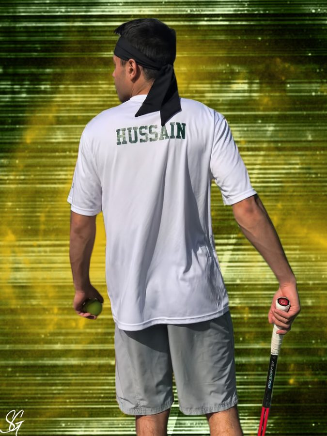 The Spotlight: Azam Hussain Leads Tennis Team by Example