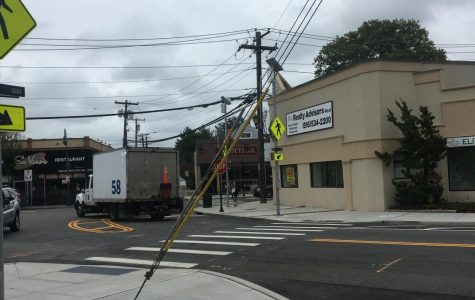 New crosswalks and yield signs were constructed at the intersection of Atlantic and Union Avenue.
