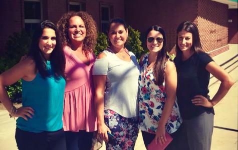 Teachers celebrate Dankenbrink's return to LHS.