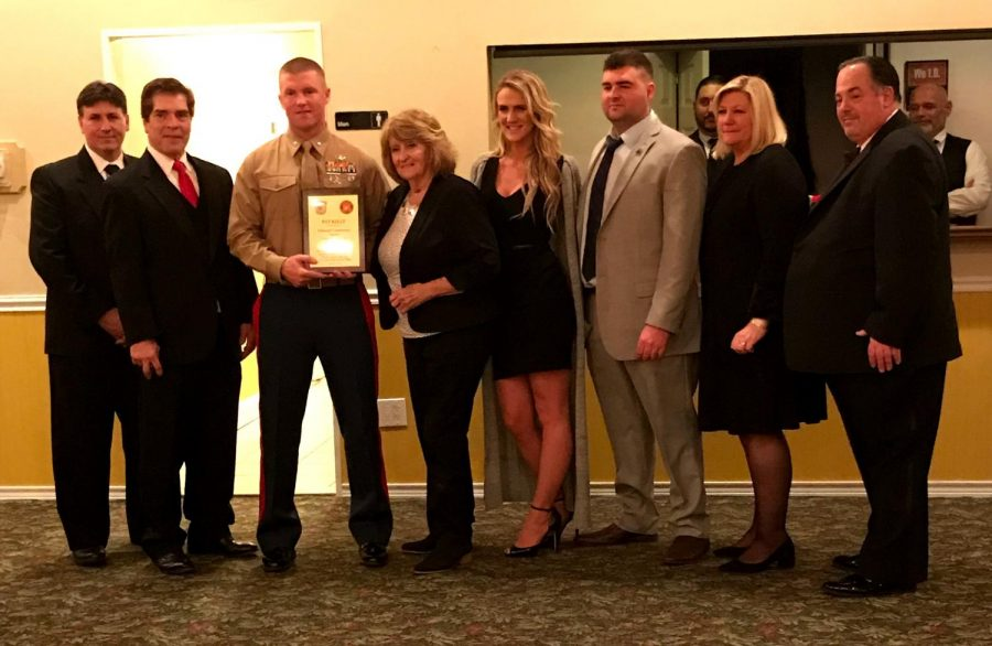 Patrick Kelly, honoree, US Marine Corps Major and Lynbrook Police Officer