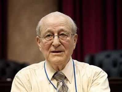 Irving Roth, director of the Holocaust Resource Center at Temple Judea