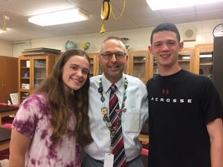 Farewell, Mr. Pipia and Ms. Mahon