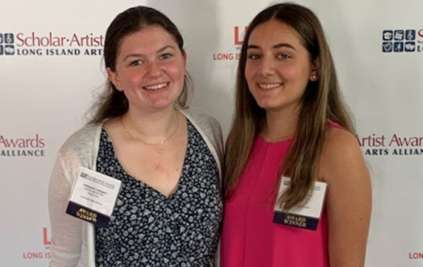 Two LHS Seniors Recognized as Long Island Scholar Artists