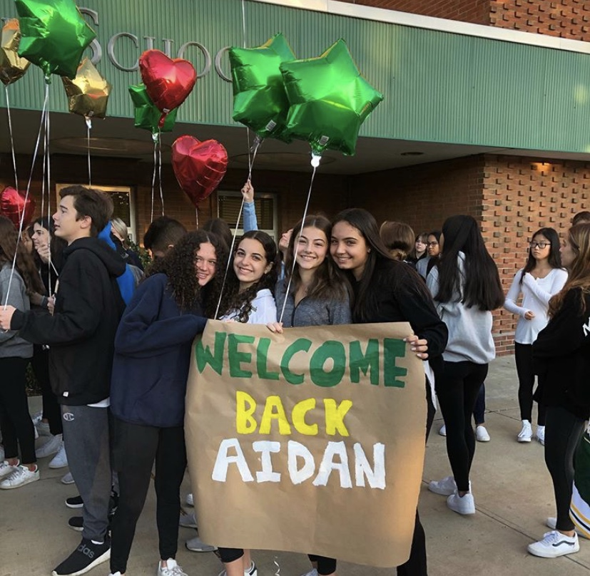 A+Grand+Homecoming+for+Junior+Aidan+Slattery