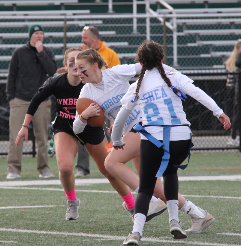 PowderPuff Football Ends in Blowout