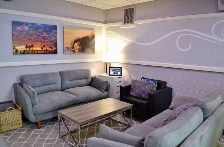 The Lynbrook North Wellness Room