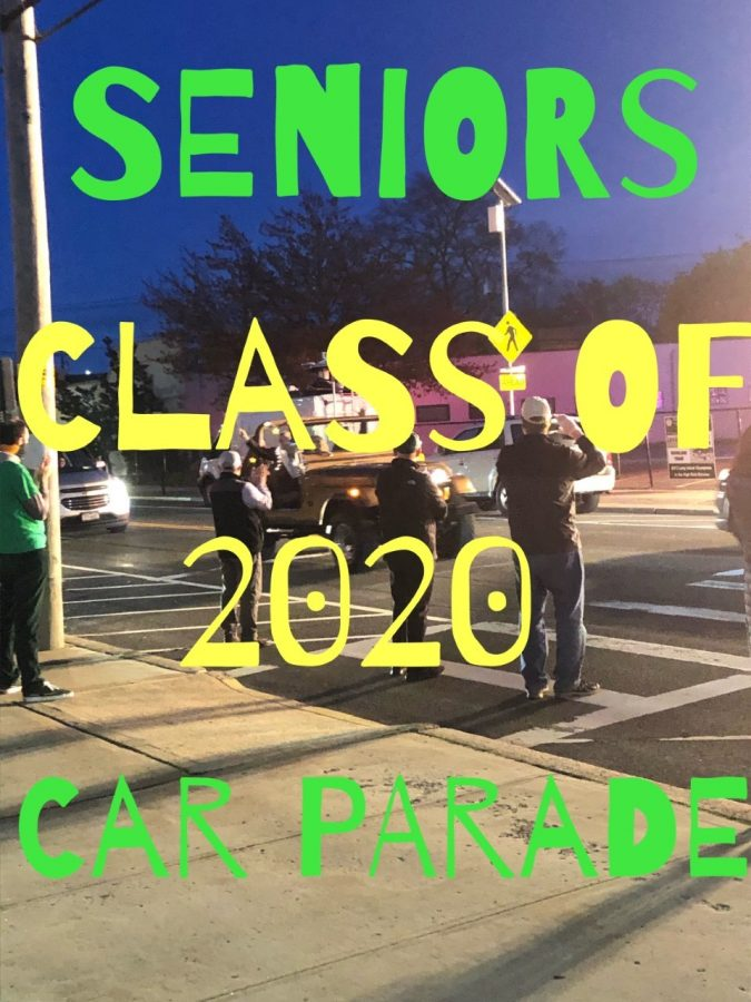 Senior College Commitments Celebrated in Car Parade