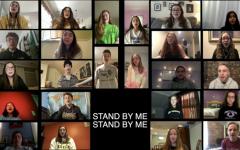 LHS Chorus students sing Ben E. King's
