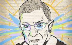 Illustration of Ruth Bader Ginsburg