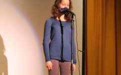 Alyssa Inserra performs for LHS's Performance Friday on January 15, 2021.