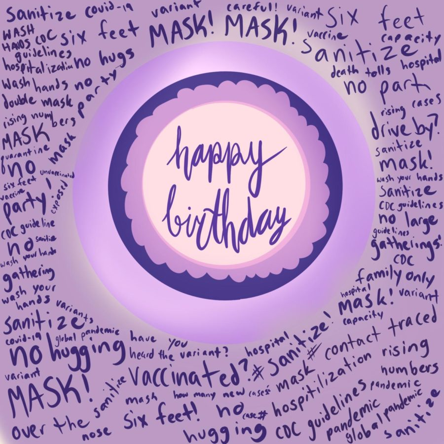 Although+usual+birthday+celebrations+were+unable+to+take+place+during+the+pandemic%2C+people+have+found+other+ways+to+celebrate+over+the+past+year.