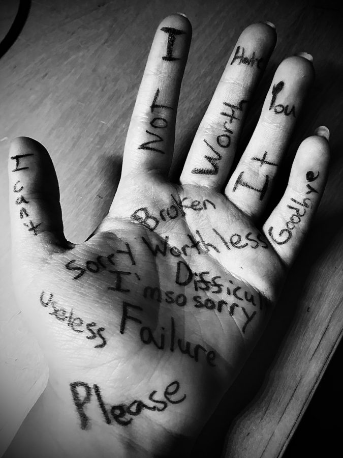 How would you feel if your life story was written on your skin for all to see?